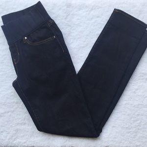 🌻 Gap Maternity Dark Wash Skinny Jeans